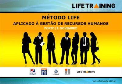 """Workshop """" Método LIFE Aplicado à Gestão de Recursos Humanos"""""""
