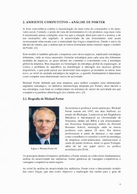 MODELO DE PORTER E ANÁLISE SWOT